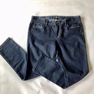Ann Taylor LOFT Modern Skinny Dark Wash Jeans